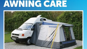 Look after your awning with these handy tips