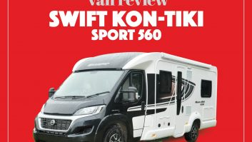 Review of the Swift Kon-tiki Sport 560, one of seven new 'vans in the Sport line-up