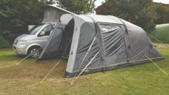 The Blosswell 380 Air is the latest offering from Danish awning specialist Outwell