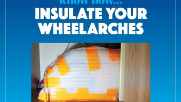 Help to keep out the cold by insulating your wheel arches in this easy DIY project