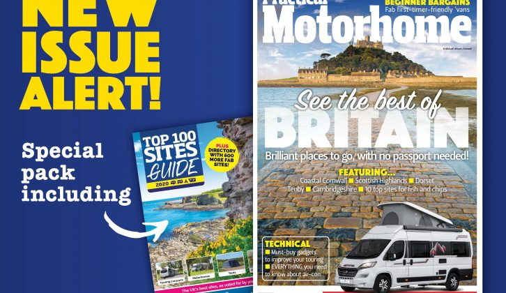 The latest issue of the magazine goes on sale today, and it's a special bumper pack with our Top 100 Sites Guide!