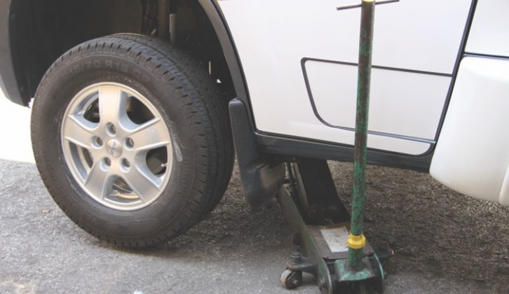 New wheel bolts are required, and it is wise to fit security lock bolts