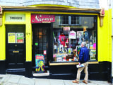 The fascinating Time Travellers Shop in Totnes attracts lots of visitors