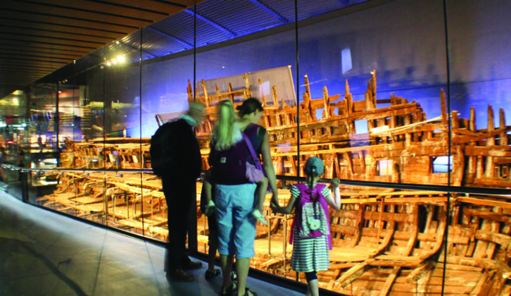 The Mary Rose Museum in Portsmouth is home to Henry VIII's great warship