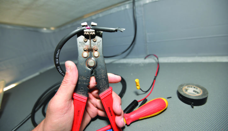 If you only buy one electrical tool, make it an automatic wire stripper. It also crimps terminals and cuts wire