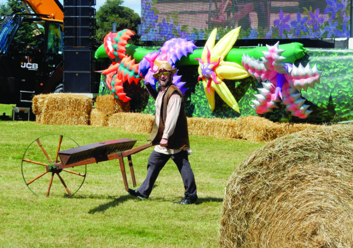 Countryfile Live is a popular family event, where you can watch the 'farmers' at work