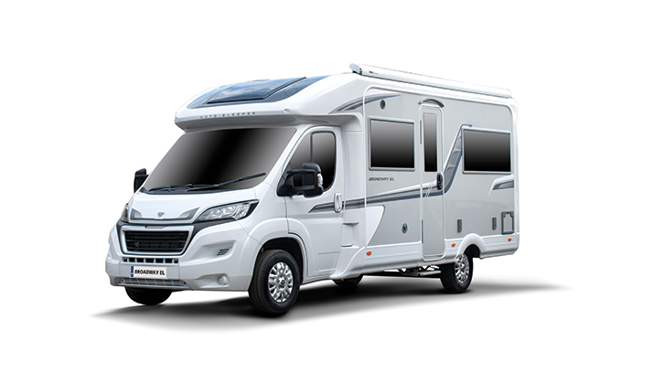 Auto-Sleepers Broadway EL, shortlisted for best motorhome for couples