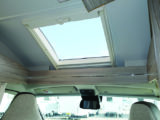 Large rooflight above the lounge