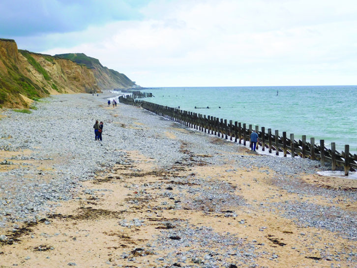 From Cromer, there are fine views along the shoreline to East Runton
